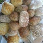 Selection Of Fresh Bread Rolls