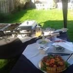 Catering Set Up - Garden Gazebo