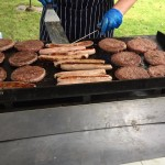Chef's BBQ Burgers and Sausages