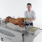 Spittingmn Pig Midlands Chef