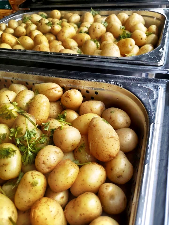 Herb Dressed Potatoes